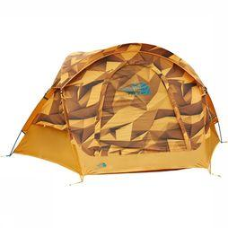 The North Face Homestead Dome 3 Tent Oranje/Koper