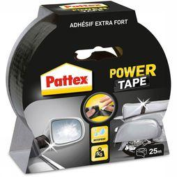 Power Tape Waterbestendig 25 Meter Zwart