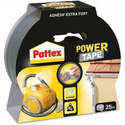 Power Tape Waterbestendig 25 Meter Grijs
