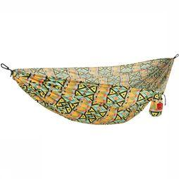 Grand Trunk Double Parachute Nylon Print Hangmat  Zwart/Wit