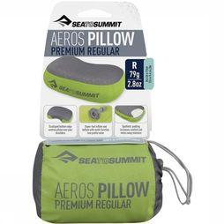 Sea To Summit Aeros Pillow Premium Regular Kussen Middengrijs/Middengroen