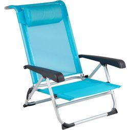 Red Mountain Deluxe Strandstoel Blauw