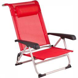 Red Mountain Deluxe Strandstoel Rood