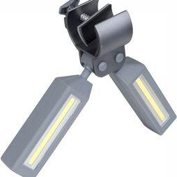 Bo-Camp Klem Bright 100 Lumen Lamp Middengrijs