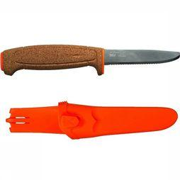 Morakniv Floating Serrated Mes Oranje
