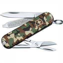 Victorinox Mes Classic SD Donkerkaki/Assortiment Camouflage