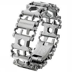 Leatherman Tread RVS Armband Multitool Zilver