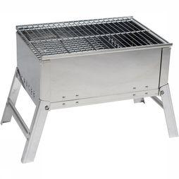 Bo-Camp Compact Deluxe RVS Barbecue Middengrijs