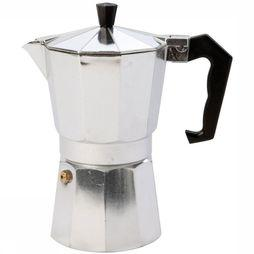 Bo-Camp Espresso Maker 6-Cups Percolator Zilver
