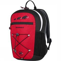 Mammut First Zip 16L Rugzak Junior Zwart/Middenrood