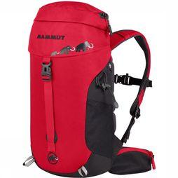 Mammut First Trion 18L Rugzak Junior Zwart/Middenrood