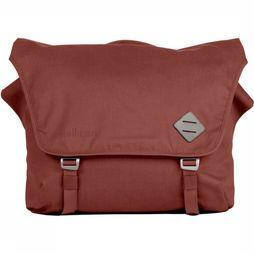 Millican Nick The Messenger Bag 17L Donkerrood