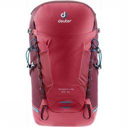 Deuter Speed Lite 22 SL Rugzak Dames Donkerrood/Middenrood