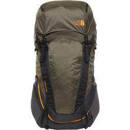 The North Face Backpack 65 Liter Donkergrijs Mengeling/Donkerkaki