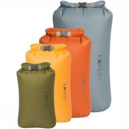 Exped Fold Dry Bags 4 Pack Set Foudralen Assortiment