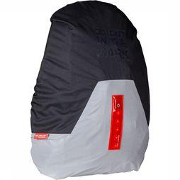 Wowow Bag Cover With Led Regenhoes Zwart/Middengrijs