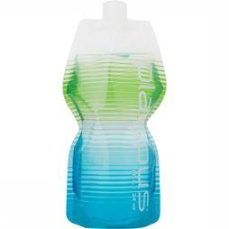 Platypus Soft Bottle 1L Drinkfles Blauw/Groen