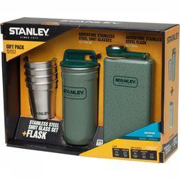 Stanley Shot Glasses + Flask 0,236L Set Lichtgroen/Middengroen
