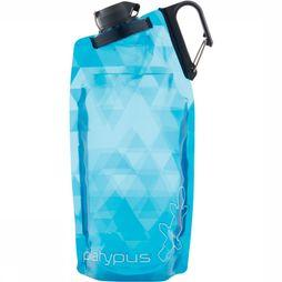 Platypus  DuoLock SoftBottle 1L Drinkfles Blauw/Wit