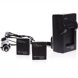 Pro Mounts Battery Kit for GoPro Hero4 Geen kleur