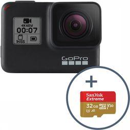 GoPro GoPro Hero7 Black + 32 Gb SD-Card Zwart