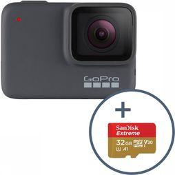 GoPro GoPro Hero 7 + 32Gb Sd-Card Zilver