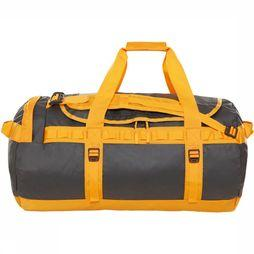 The North Face Base Camp Duffel M Donkergrijs/Oranje