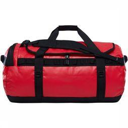 The North Face Base Camp Duffel L Rood/Zwart