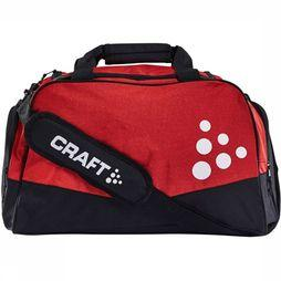 Craft Squad Duffel Medium Zwart/Middenrood