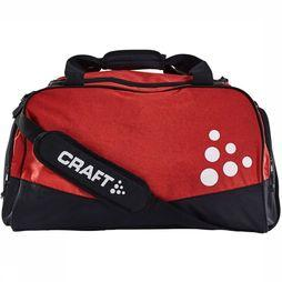 Craft Squad Duffel Large Zwart/Middenrood