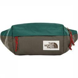 The North Face Lumbar Tas Middengroen/Middenbruin