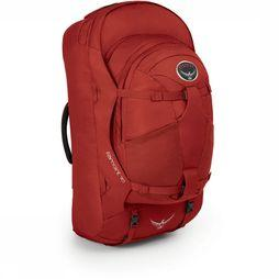 Osprey Farpoint 70 Travelpack Donkerrood