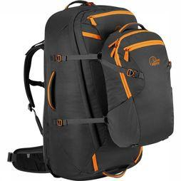 Lowe Alpine AT Voyager ND65+15 Travelpack Dames Zwart/Oranje