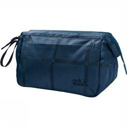Jack Wolfskin Space Talent Washbag Toilettas Dames Indigoblauw