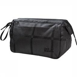 Jack Wolfskin Space Talent Washbag Toilettas Dames Zwart