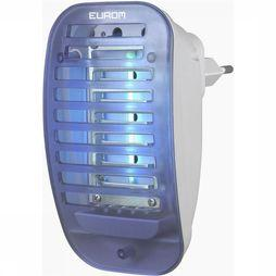Eurom Fly Away Plugin UV4 Insectenlamp Wit/Blauw