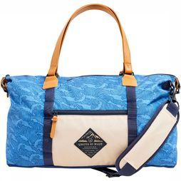 United By Blue Breakers Trail Weekendtas Middenblauw/Beige