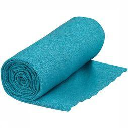 Sea To Summit  Airlite Towel Large Pacific Blue Handdoek Turkoois