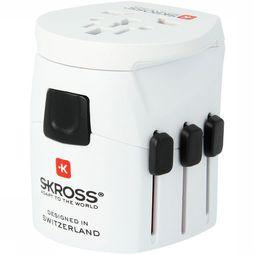 S-Kross Pro Light World Reisstekker Wit