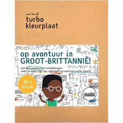 Groot-Brittanie/Great Britain Kleurplaat