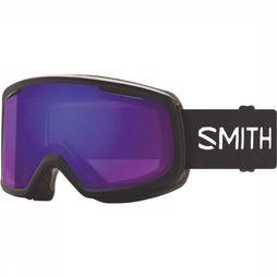 Smith Riot Skibril Dames Zwart