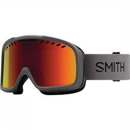Smith Project Skibril Donkergrijs