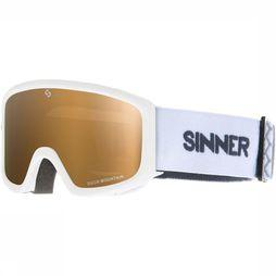 Sinner Duck Mountain Skibril Junior Wit
