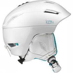 Salomon Icon 2 Helm Dames Wit