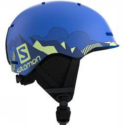 Salomon Grom Helm Junior Blauw