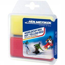 Holmenkol Worldcup Mix Hot Skiwax Blauw/Wit