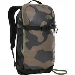 The North Face Slackpack 20 Middenkaki/Assortiment Camouflage