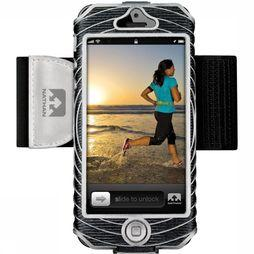 Nathan Sonic Boom iPhone 5 Armband Zwart/Zilver