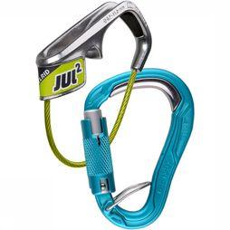 Edelrid Jul 2 Belay Kit Bulletproof Triple Set Groen/Blauw