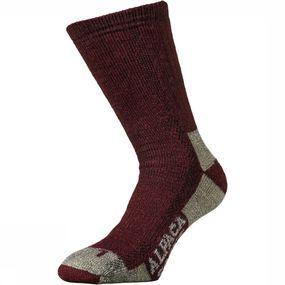Alpaca socks 3-Pack Sok Dames Bordeaux kopen